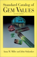 Standard Catalog of Gem Values by Anna M. Miller